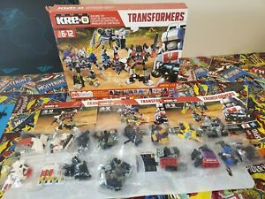 KRE-O Transformers Combiners 3 pack Rare
