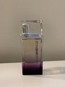 L'Eau Par Kenzo Eau Indigo Pour Femme 1.7 Oz EDP Spray Preowned, No Box 95% Full