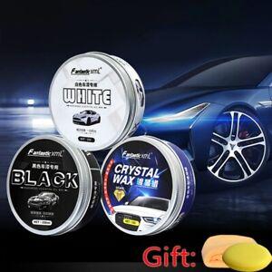 Car Wax 250ML Crystal Plating Set Hard Glossy Carnauba Wax Paint Care Coating