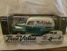 True Value Diecast Ford 1950 Panel Van Bank
