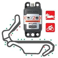 MyLaps Car/Bike FLEX AMB X2 X 260 Transponder Rechargeable 1 Year Subscription