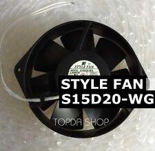 STYLE FAN S15D20-WG All-metal high-temperature fan 200VAC 33/30W 15038 2wire