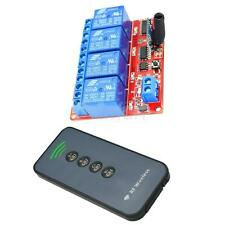 Tarjeta de Control de Módulo Relé 4 Canal con Control Remoto para Arduino 5V