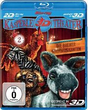Kasperletheater - Die Bremer Stadtmusikanten in REAL 3D (Puppentheater  BLU-RAY)