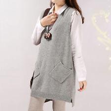 Brand New Korean Style Knit Legging Loose Sweater Vest Blouse Top XS