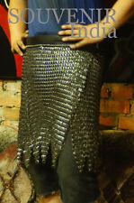 MEDIEVAL CHAINMAIL ARMOR COSTUMES SKIRT 09 MM SCA FLAT RIVETED MILD STEEL