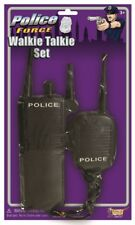 Officer Cop Police Walkie Talkie Set Adult Toy Communication Costume Accessory