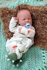 14'' Reborn Baby Boy Real Doll Full Body Vinyl Silicone Handmade Life Like Toys