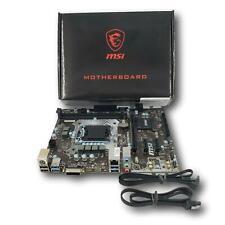 MSI B150M Pro-D Micro ATX Intel LGA1151 DDR4 Desktop Motherboard