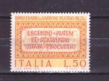 FRANCOBOLLI Italia Repubblica 1974  Marco Terenzio Varrone Reatino 50 L MNH**