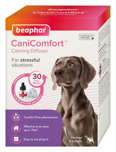Canicomfort Calming Diffuser Starter Pack + Extra Refill For Anxiety, Fireworks