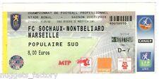 Billet  / Place  OM Olympique de Marseille - FC Sochaux vs OM  ( 100 )
