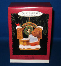 "1996 Hallmark ""Welcome Sign-Tender Touches"" Christmas Keepsake Ornament"