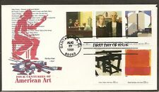 US SC #3236 p,q,r,s,t American Art FDC . Armaster Cachet.