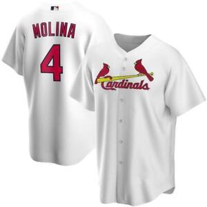 Men's St. Louis Cardinals Yadier Molina #4 Baseball Jersey All Size