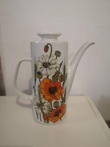 Vintage J&G Meakin Studio Pottery Poppy TEA / COFFEE POT