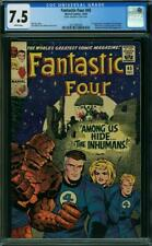 Fantastic Four #45 CGC 7.5 1965 1st Inhumans! Key Silver! White Pages! K4 209 cm