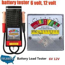 12V CLAMP ON AUTO CAR BATTERY VOLTAGE LOAD VOLT STARTER TESTER TEST TESTING TOOL