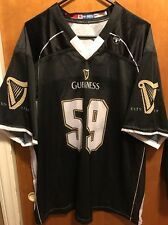 Guinness Brewing Ireland ~ Men's Xl ~ Vintage ~ Us Made Football Jersey