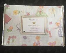 Hillcrest Fairy Princess Twin Sheet Set 100% Cotton Linens Girl Room Decor New