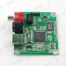 24bit/192khz USB to Coaxial/Optical fiber SPDIF I2S Converter DAC Board CM6631A