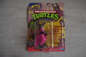 Splinter Teenage Mutant Ninja Turtles Figurine 1988 NEUVE !  Playmate Mirage