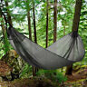 Ultra Light Camping Hammock for Backpack Travel Hiking w/ Straps&12KN Carabiners
