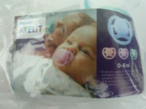 PHILIPS AVENT ULTRA AIR 0-6 MONTHS DUMMY SOOTHER PACIFIER / AQUAMARINE / SEALED