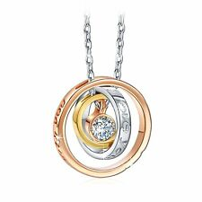 I LOVE YOU MOM PENDANT NECKLACE - WOMEN LADY WIFE MOTHERS DAY GIFTS