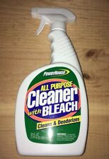 Power House Cleaner With Bleach Cleans & Deodorizes 22 Fl Oz.