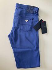 Armani New Lotus J06 Skinny Fit Blue Jeans W29 L32 Bnwts