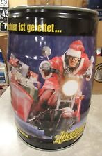 5 Liters Keg Altenburger Beer Can ( Santa Biker ) From Germany Nice!