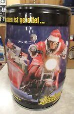 5 Liters Keg Altenburger Beer Can ( Santa Biker ) From Germany Nice!