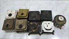 Vintage gec seimen fan regulator england ceiling fan speed control Germany 12 PC