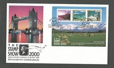 NEW ZEALAND 2000 THE STAMP SHOW LONDON MINISHEET FDC SG,MS2328 LOT 6922A