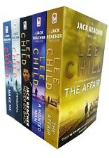 Lee Child Collection Jack Reacher Series(16-20) 5 Books Pack Set Wanted Man NEW