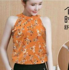 DW #218 Floral Top in Mustard