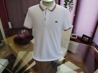 """Lacoste LIVE Men's FR 4  Polo T Shirt  - 42"""" Chest"""