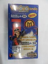 VIDEOGIOCANDO videocassetta catalogo giochi preziosi e Gig MAGICIAN anno 2000