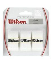 WILSON PRO OVERGRIP PERFORATED 0,55  xTENNIS CONF DA 3 COLORE BIANCO