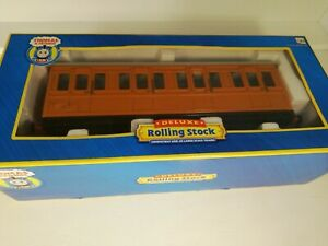 Bachmann 97002 Thomas & Friends Clarabel Coach G Scale modified with lights.