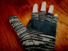 THINSULATE THERMAL FINGERLESS GLOVES MITTENS CONVERTIBLE STYLE COLD WEATHER