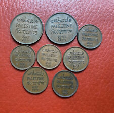 Palestine Lots Of Various Coins All Grade UNC