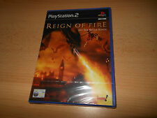 REIGN OF FIRE   PAL version   SONY  PS2  NEW  SEALED