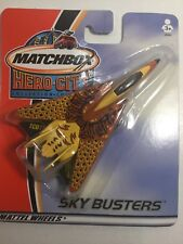 Matchbox Skybusters Hero City Fighter Jet New In Pack