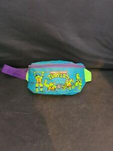 Teenage Mutant Hero Turtles Vintage Kids Money Belt Bum Bag Rare Fanny Pack TMNT