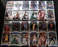 2019-20 Panini Prizm Basketball Trading Cards Lot of 24 Anthony Davis Rui