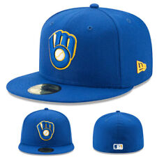 New Era Milwaukee Brewers Fitted Hat MLB Authentic Collection Alt Classic Cap