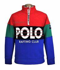 Polo Ralph Lauren Hi Tech Rafting Club Pullover Men's M Colorblock Multi NWT