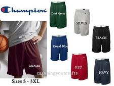 Champion Mesh Basketball Polyester 9 inch Shorts  8731